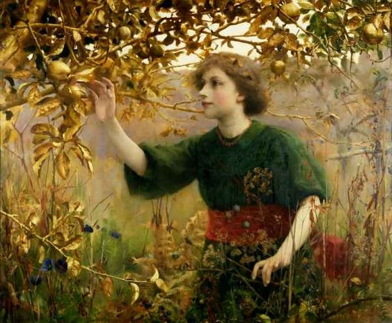A Golden Dream by Thomas Cooper Gotch: