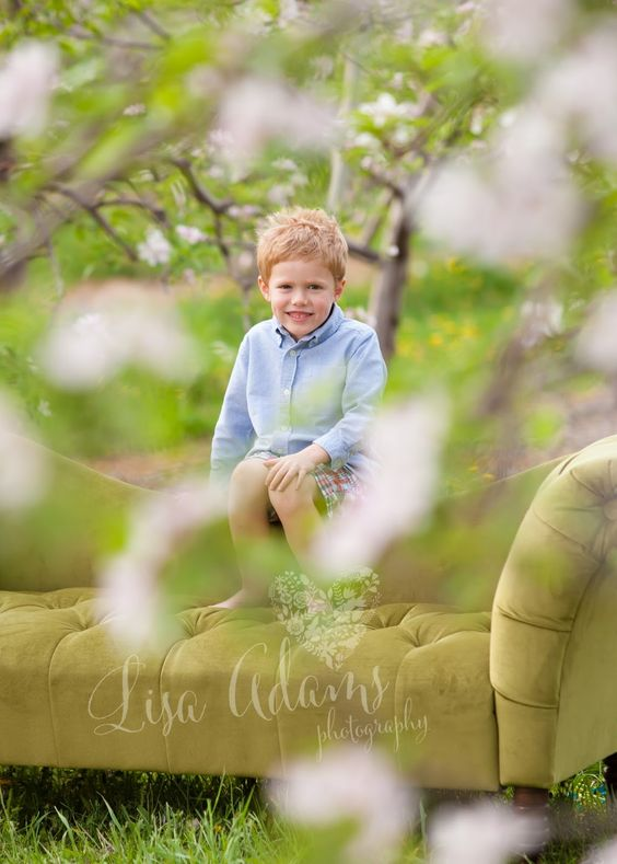 Fun Family Apple Blossom Session!! {Macomb County Photographer} | Lisa Adams Photography Blog