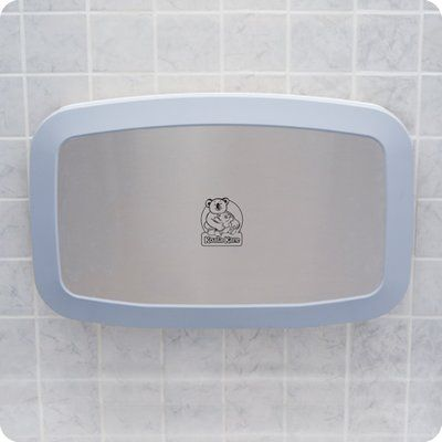 Koala Kare Products Baby Changing Station Horizontal Wall Mount With Stainless Steel Veneer Baby Changing Station Changing Station Baby Changing Tables