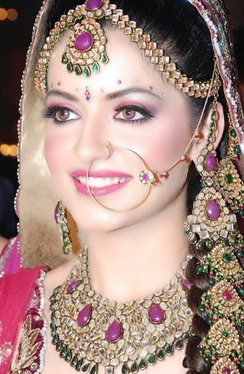 For bridal makeup call to +91-720-5959-333 or visit us at http://www.mangalampvtltd.in