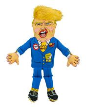 "Donald 17"""" Presidential Parody Dog Toy"