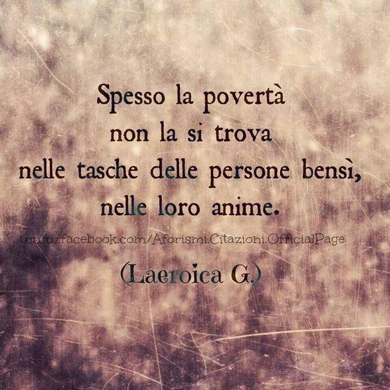 Povertà - Anima