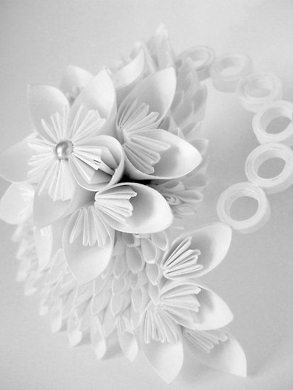 Paper flower by Jemma Murphy.