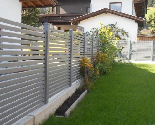 Alu Zaun Landeck Leeb Balkone Und Zaune In 2020 Zaun Alu Zaun Sichtschutz Garten Zaun