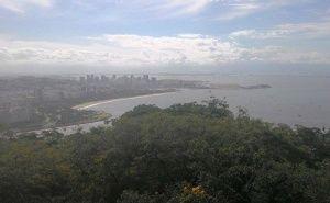 Do alto do Pão de Açúcar, uma linda impressão do leitor Raphael Cabral. Veja em: www.portalorio.com.br/do-alto-do-pao-de-acucar-impressao-de-raphael-cabral/
