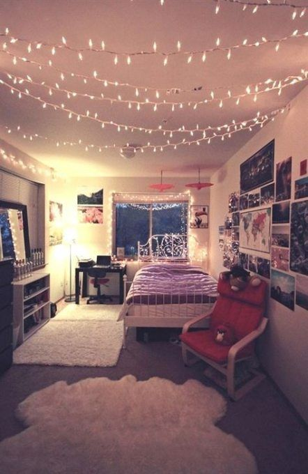 Bedroom Teenage Girly Diy Fairy Lights 16 Ideas For 2019 Diy