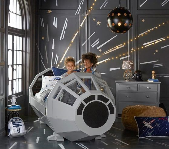 A bed from a galaxy far, far away.: