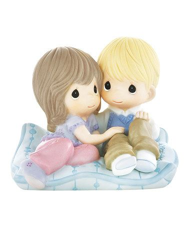 Take a look at this Life Is So Cushy With You By My Side Figurine on zulily today!