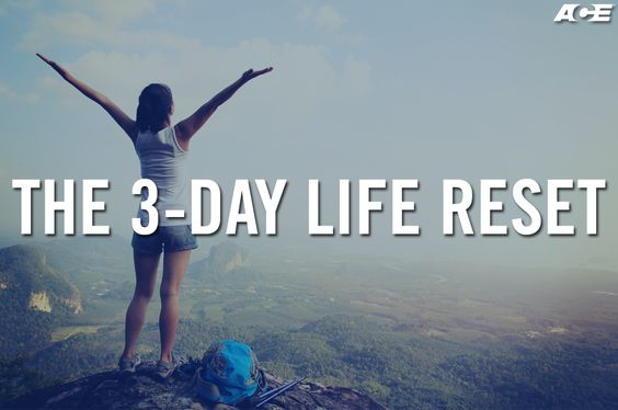 As the demands of daily life pile up, it's easy to find yourself exhausted, defeated and overwhelmed. Fortunately, just because you lost it temporarily doesn't mean you can't find it again. Here is a three-day guide for getting yourself get back on track with the way of life that recharges your body, brain and spirit while you recreate an extraordinary life.