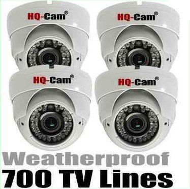 "HQ-Cam® 4x Security Surveillance Camera - 1/3"" Sony Super HAD II CCD 700TV Color Lines High Resolution 2.8-12mm Varifocal Lens Day Night CCTV Home Video Security Camera Outdoor/indoor by Q1C1. $415.99. Product Type:Color Outdoor Dome Camera Image Sensor:1/3"" Sony Super HAD II CCD Effective Pixels:976 (H) x 508(V) Horizontal Resolution:700 TV Lines Minimum Illumination:0 Lux, 42 IR LED Lens:2.8-12mm Varifocal Lens S/N Ratio:More than 48 dB Signal System:NTSC V..."