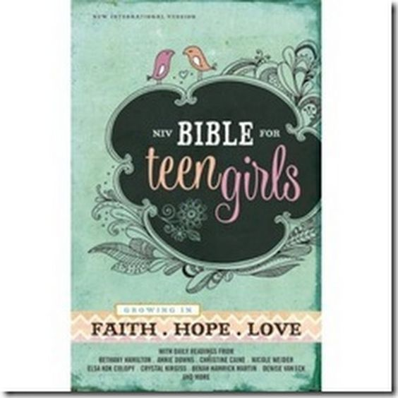 Mozi Esmé: Review/Giveaway: NIV Bible for Teen Girls: Growing in Faith.Hope.Love