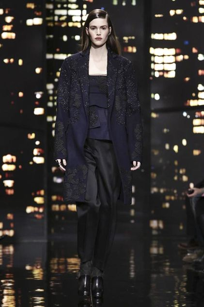 @DKNY Donna Karan Fall 2015 New York #NYFW