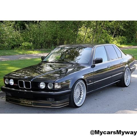 7series E32 Alpina B11 3 5 In The 1990s In Glasgow With Images
