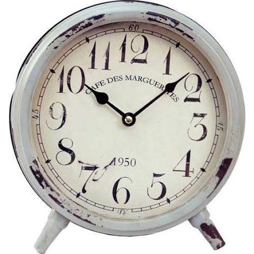 Vip International Mj8173 Round Table Clock Bellacor In 2019
