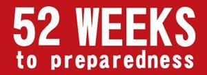 week by week emergency prep