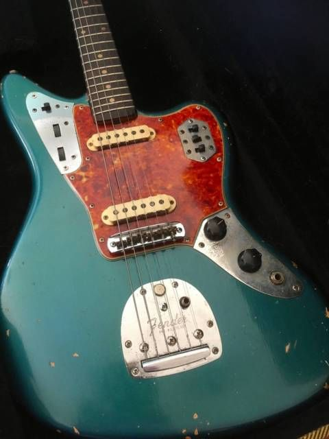 Vintage 1963 Fender Jaguar L Series Made In Usa Fender Jaguar Fender Electric Guitar Fender Guitars