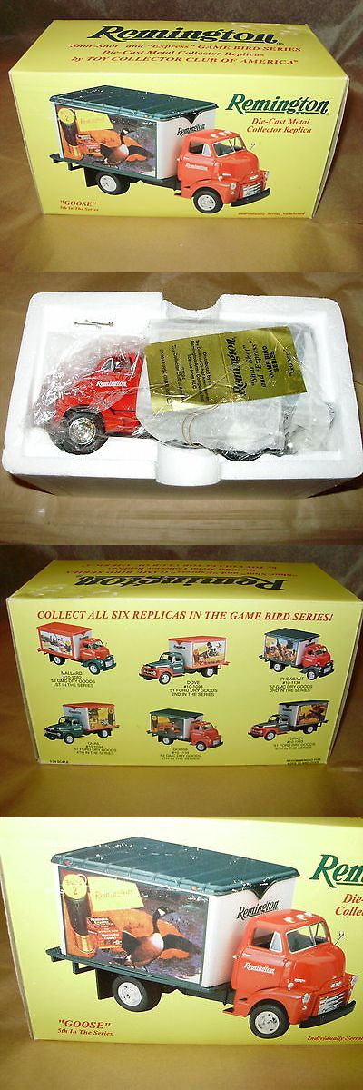 Advertisements 71132: First Gear 52 Gmc Dry Goods Van With Goose Remington Ad - 5Th In Series - Nib BUY IT NOW ONLY: $30.0