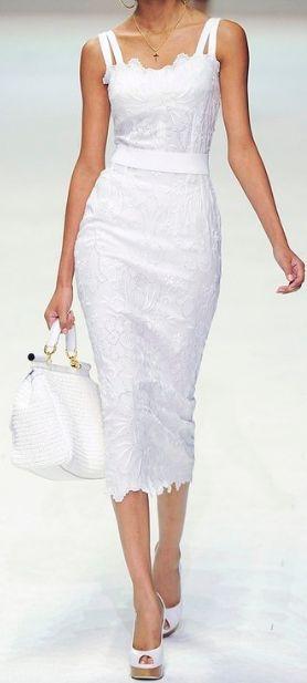 white- Dolce & Gabbana: