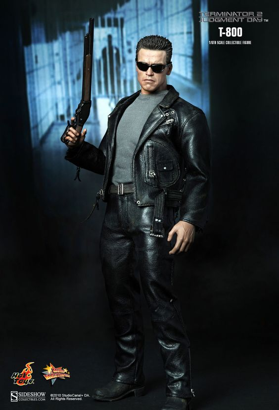 7 inch The Terminator J/' Day Arnold Schwarzenegger T-800 Action Figure toy