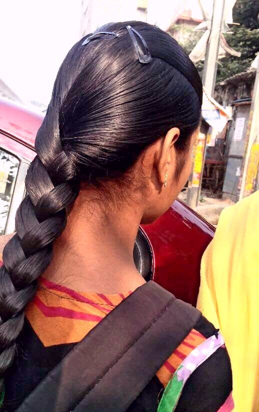 Pin By K Veladri On Thick Braid Braided Hairstyles Hair Styles Hair Braid Indian