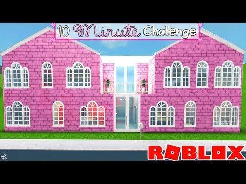 10 Minute Bloxburg Mansion Buildoff Challenge Bloxburg Mansion