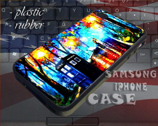 Tardis Dr Who Painting  iPhone 4/4s/5c/5s/5 Case  by SUPREMECUSTOM, $14.87.etsy.com