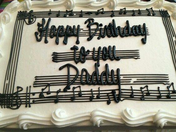 Happy Birthday to you Daddy cake