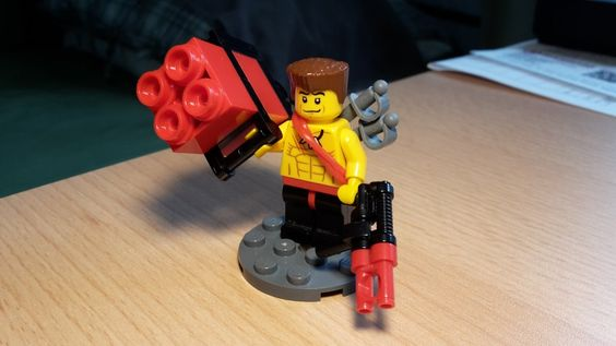 Bricks: Minifig of the Month, by Duerer