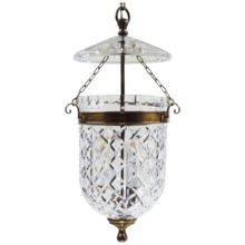vintage waterford pendant light fixture bell jar lantern bell jar lighting fixtures