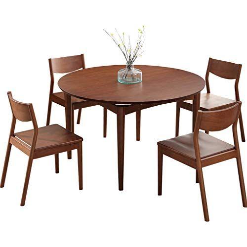 Mcbeth Storage 4 Seater Dining Table Set Honey Finish Dining