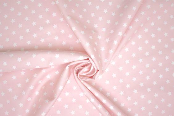 Tessuto cotone stampato Stelle di EmporioDelTessuto su Etsy