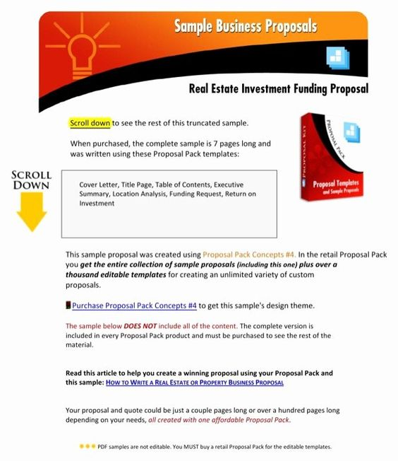 Real Estate Investment Proposal Template Lovely Download Real Estate Investment Funding Pro Real Estate Investing Proposal Templates Business Proposal Template