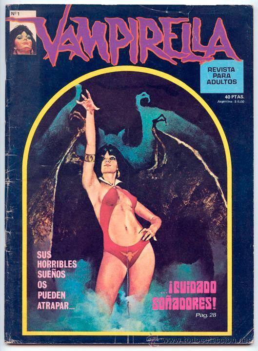 VAMPIRELLA - Nº 1 - GARBO ED. - DICIEMBRE 1974 (EL CINE FANTÁSTICO POR LUIS VIGIL) - Foto 1