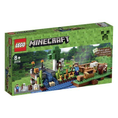 LEGO-MINECRAFT-21114-THE-FARM-BRAND-NEW-IN-THE-BOX