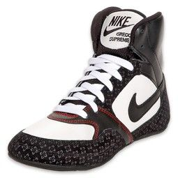 NEW Nike Wmns Greco Mid U wrestling shoes womens dunk white purple ...