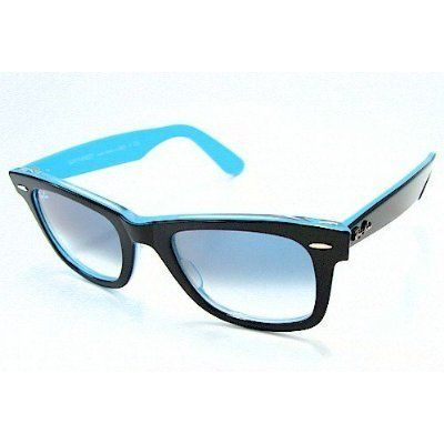 RAY BAN RB 2140 Sunglasses Rayban RB2140 Wayfarer Black Blue 1001/3F Ray-Ban, http://www.amazon.com/dp/B002FB091W/ref\u003dcm_sw_r_pi_dp_nF1Gqb1CSPNZX ...