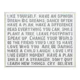 Found it at Wayfair - Like Yourself Inspirational Typography Wall Plaque