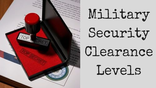 Pin By Military Benefits On Employment Security Clearance Levels Security Clearance