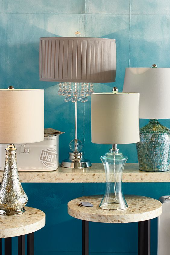 Pier 1's luminous selection of desk lamps and table lamps is ready to light up any surface in your home. With style choices ranging from modern to traditional to coastal to glam, we know you'll find the right lamp for your desk, side table, buffet and more. Your future definitely looks bright.: