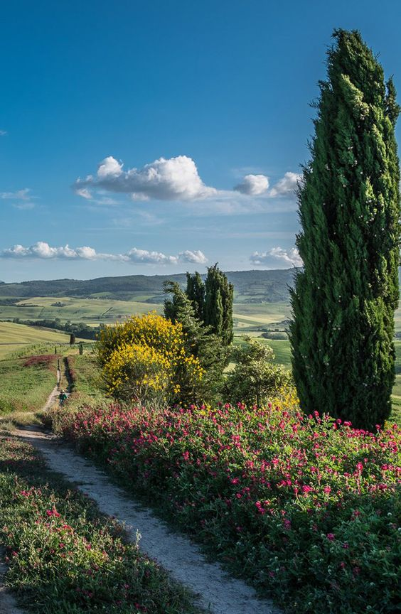 Val d'Orcia, Tuscany: