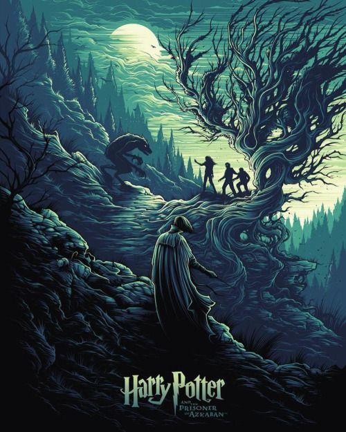 Harry Potter Y El Prisionero De Azkaban 2004 Alfonso Cuaron Poster Alternativo De Harry Potter Movie Posters Harry Potter Illustrations Harry Potter Poster