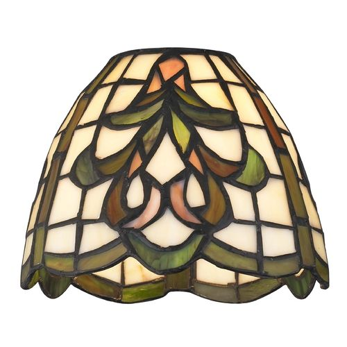Design Classics Lighting Dome Tiffany Glass Shade - 1-5/8-inch fitter | GL1045 | Destination Lighting
