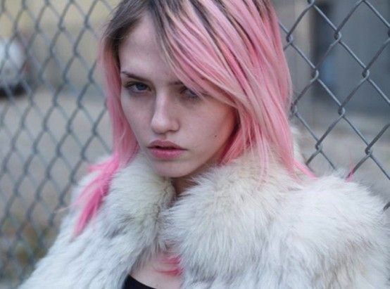 pink hair love #pink