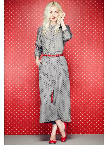 I need these culottes in my life! Celia Birtwell for Uni Qlo!