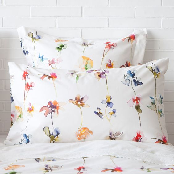 linge de lit fleurs zara home france bed linen pinterest zara home zara and frances o. Black Bedroom Furniture Sets. Home Design Ideas
