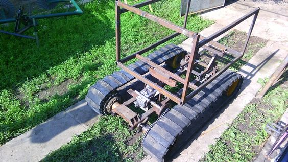 Tracked Mini Dumper by Vyacheslav.Nevolya - Now I'm creating gearbox and search engine. Photos will be later.