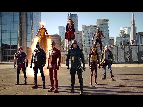 Supergirl The Flash Arrow Legends Of Tomorrow Invasion