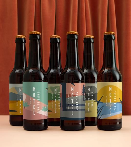 Marie Marie Motel Beer Beer Packaging Design Craft Beer Packaging Beer