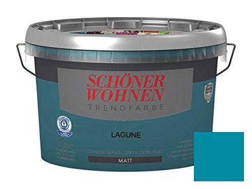 Schoner Wohnen Trendfarben Matt Lagune 1 L Schoner Wohnen Https Www Amazon De Dp B010kcjhqa Ref Cm Sw R Pi Dp X Ubquybpp6gw81 Wohnen Wandfarbe Schoner Wohnen