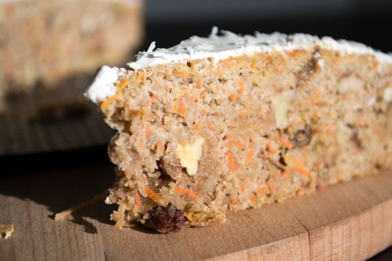 Healthy and delicious carrot cake!!